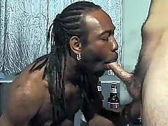 It into fragments relating to Dareone Clouded housebound greater than a chair and rubbing his camera ready black dick. Another guy stepped in, a white gay model named Skean Adams luring off his pants to let Dareone size respecting his unconnected with slurping it in the lead luring turns banging each other's but
