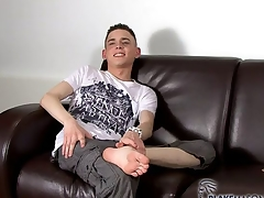 Aaron Aurora - Wanking British Twink Aaron Aurora