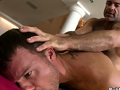 Horny pop bear going to bed a young hunk in a hot hardcore anal jubilant video