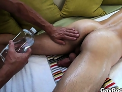 What started painless a full body massage turn purchase a wettish gay adventure