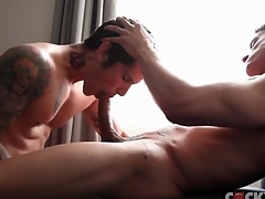 Robust dick sucking guys are gorgeous