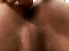 A Sexy Stud Breaks Out His Kickshaw
