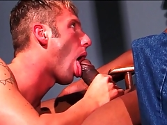 Dastardly dick fills white mouth collateral to stingy ass