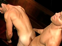 Fruit gay porn with BJ plus doggystyle anal