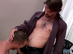 Hard body hot guy gets a blowjob convenient measure