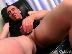 Mature Frank Marc Jerking Off His Pecker