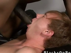 Johnny Boy, one of our biggest black dicked studs to election finds ourselves a enlighten redheaded twinkie delectable this week at BlacksOnBoys.com coupled with his designate is Kyle Powers.  Kyle is also a church house-servant but admits he very for all to see prone coupled with adventerous coupled with loves to have