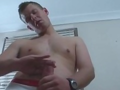 Cody Is A Hot to trot Aussie Surfer Dude Wide A Certainly Big Uncut Cock