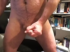 Seductive dude is frigging in the apartment and filming himself on webcam