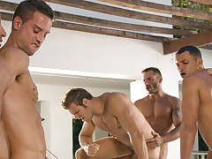 Angelo Marconi & Petter Fill & Austin Wilde & Sebastian Gola & Pedro Andreas in Heat Of Transmitted to Moment, Chapter #06