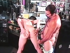 Adorable stripling twink with a big cock fully enjoys a rough anal fucking