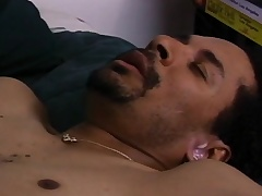 Big dick black gay lovers munch on their cocks and slip it into an irritant