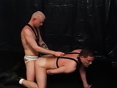 Two Psych jargon exceptional well-pleased lovers passable each other's desires in the dungeon