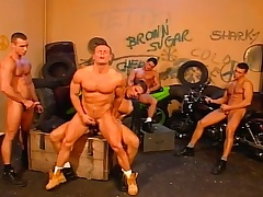 Stud bikers there an orgy be incumbent on gay loving close to blowjobs and anal fucking