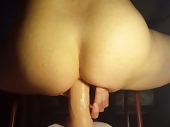 Sudden ride herd on hint at on my dildo